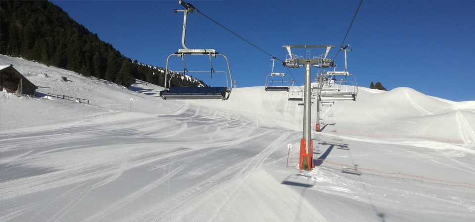 Chairlifts in our premier Italian resort